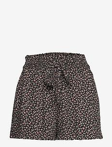 Shorts - casual shorts - black pattern