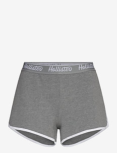 Chain Knit Logo Shorts - casual szorty - med grey sd/texture