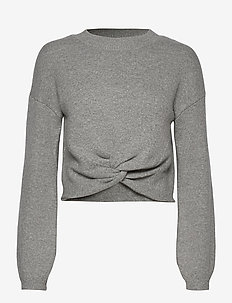 REVERSIBLE TWIST FRONT - gensere - grey