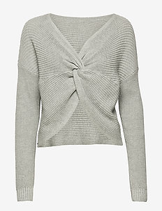 Reversible Sweater - LIGHT GREY SD/TEXTURE