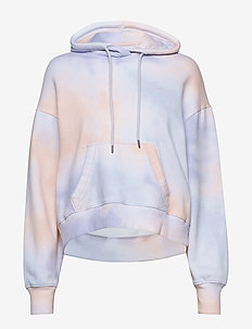 Tie-Dye Icon Hoodie - PURPLE PATTERN