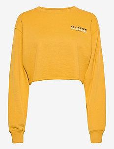 CHAIN MFM CREW - navel shirts - yellow