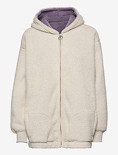 HCo. GIRLS SWEATSHIRTS - hoodies - cream