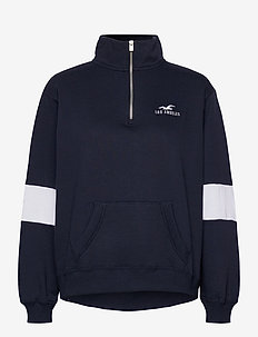 SEAM DETAIL - sweatshirts - navy