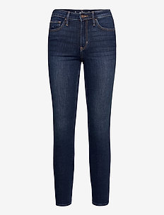 CLEAN HRSS SFTSTR - skinny jeans - dark clean soft stretch