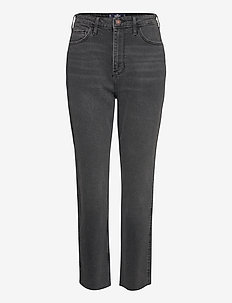 UHR MOM - straight jeans - washed black