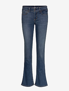 Medium Lr Boot Jeans - TURQ/BLUE PATTERN