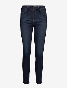 High Rise Jean Legging - DARK