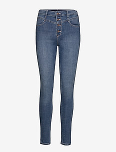 High Rise Super Skinny - MEDIUM