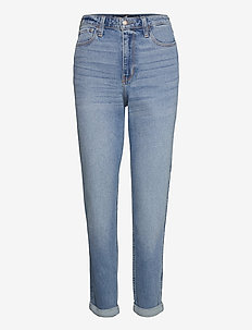 CLN MED UHR MOM - mom jeans - clean medium uhr mom