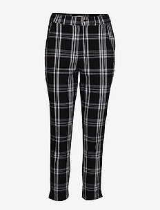 Stretch Oxford Pant - BLACK PATTERN