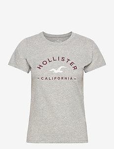 HCo. GIRLS GRAPHICS - t-shirts - grey
