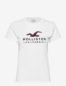 HCo. GIRLS GRAPHICS - t-shirts - white