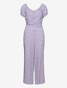 HCo. GIRLS DRESSES - jumpsuits - lavender floral
