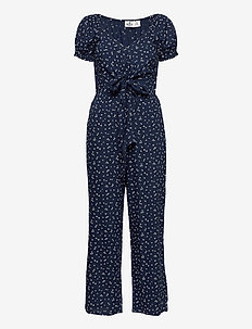 HCo. GIRLS DRESSES - jumpsuits - navy floral