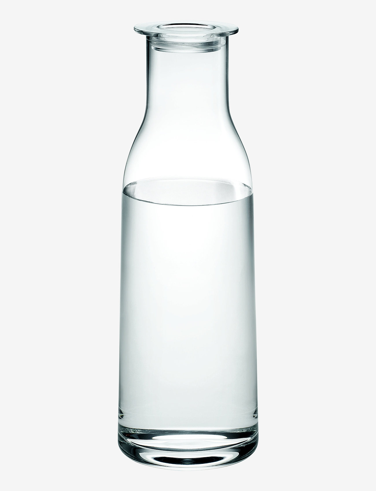 Holmegaard - Minima Bottle with lid 90 cl - vesikannut ja -karahvit - clear - 0