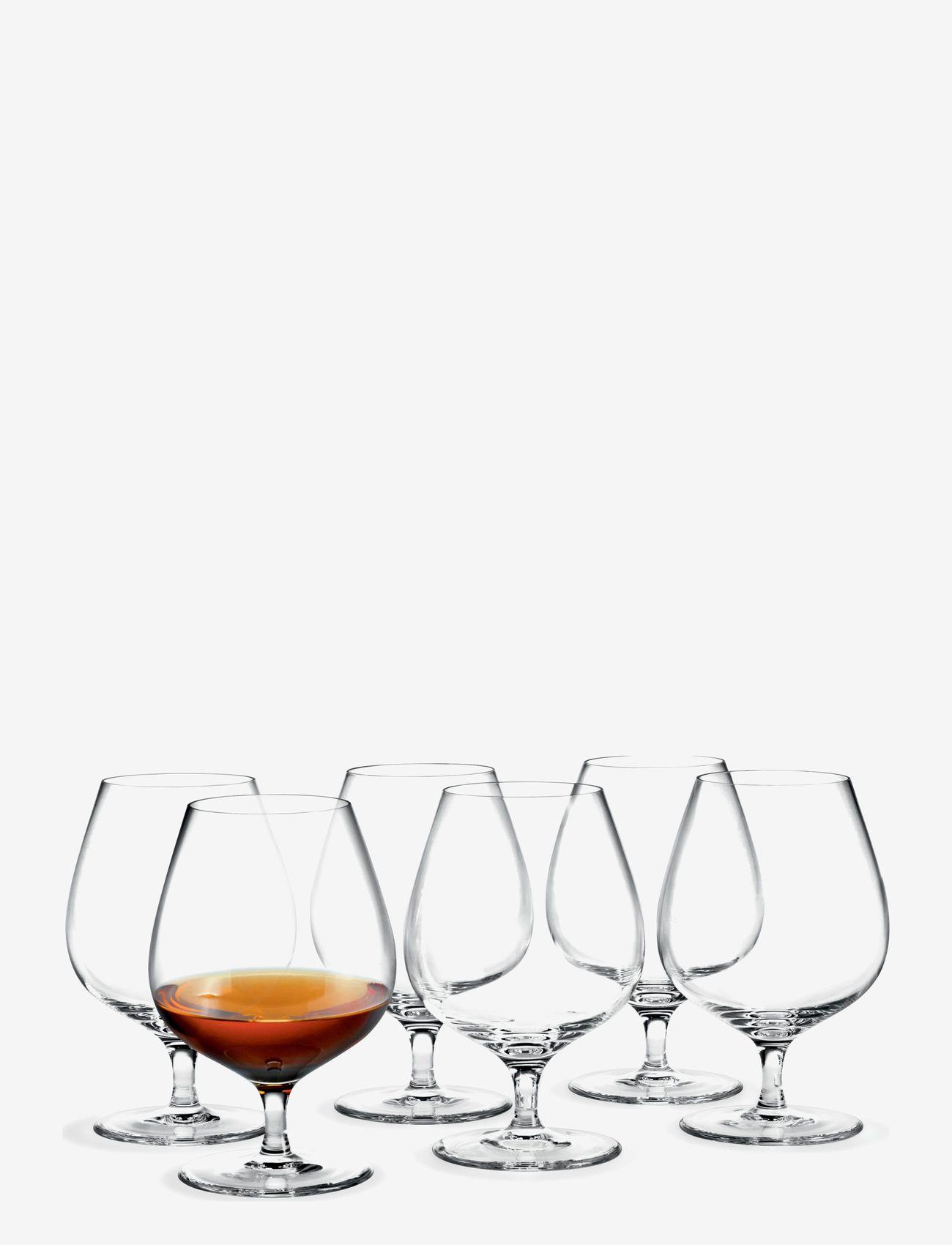 Holmegaard - Cabernet Cognacglass 63 cl 6 stk. - whiskyglass & cognacglass - clear - 1
