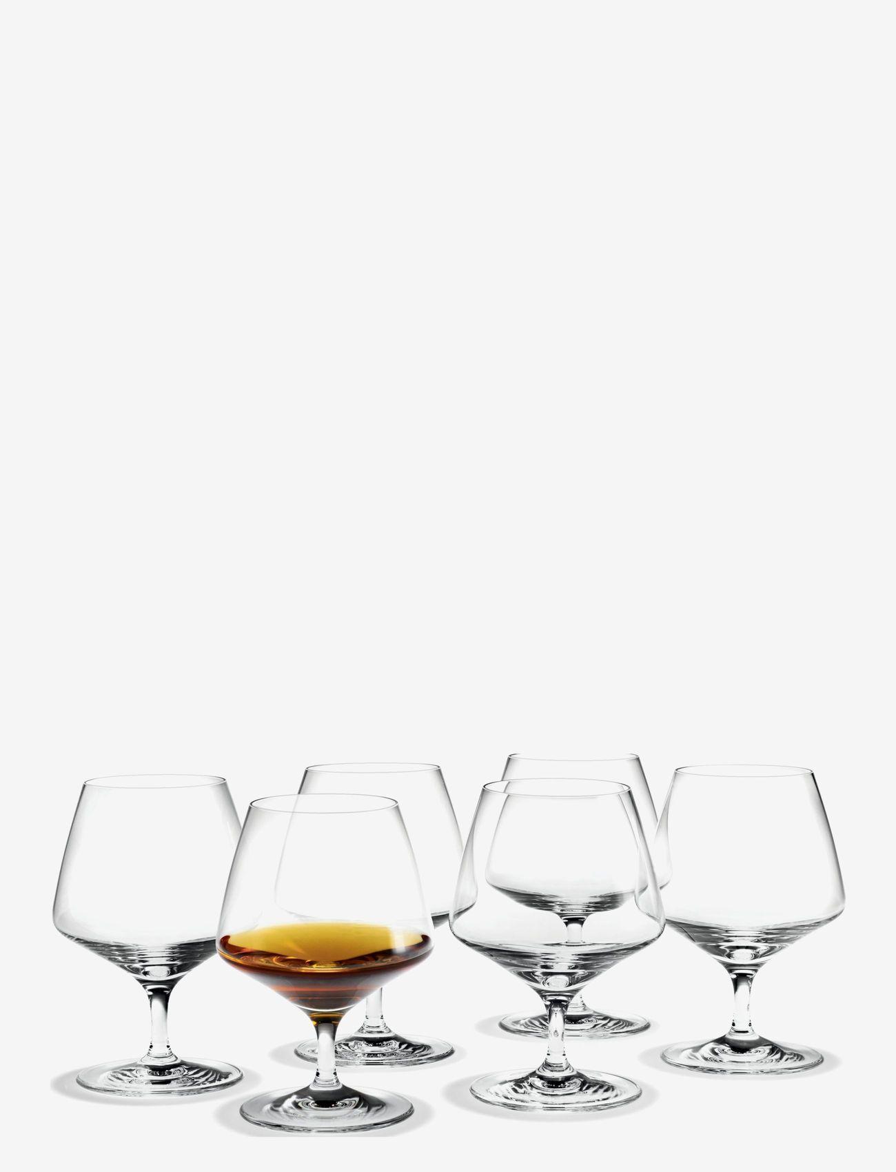 Holmegaard - Perfection Cognacglass 36 cl 6 stk. - whiskyglass & cognacglass - clear - 0