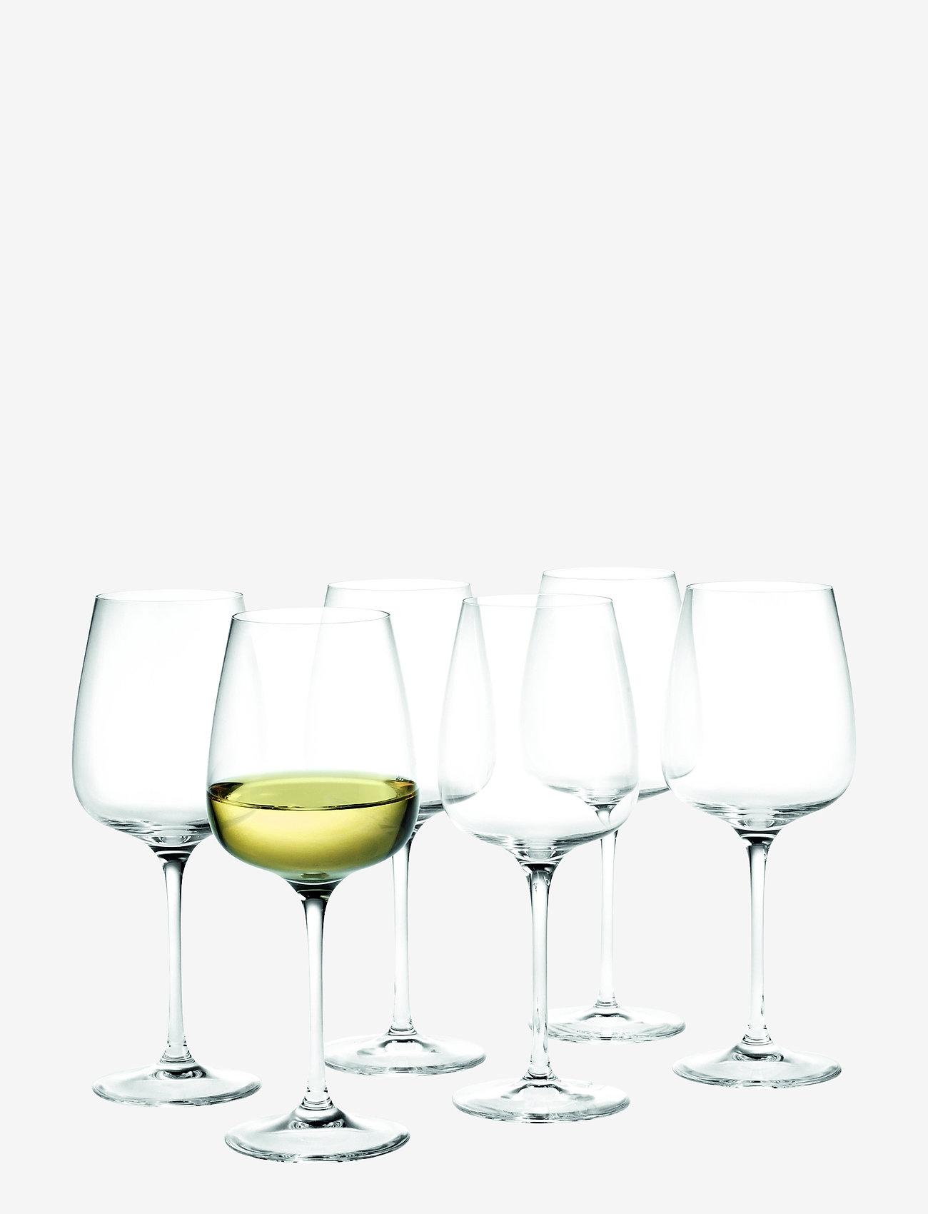 Holmegaard - Bouquet Dessertvinglass 32 cl 6 stk. - vinglass - clear - 0