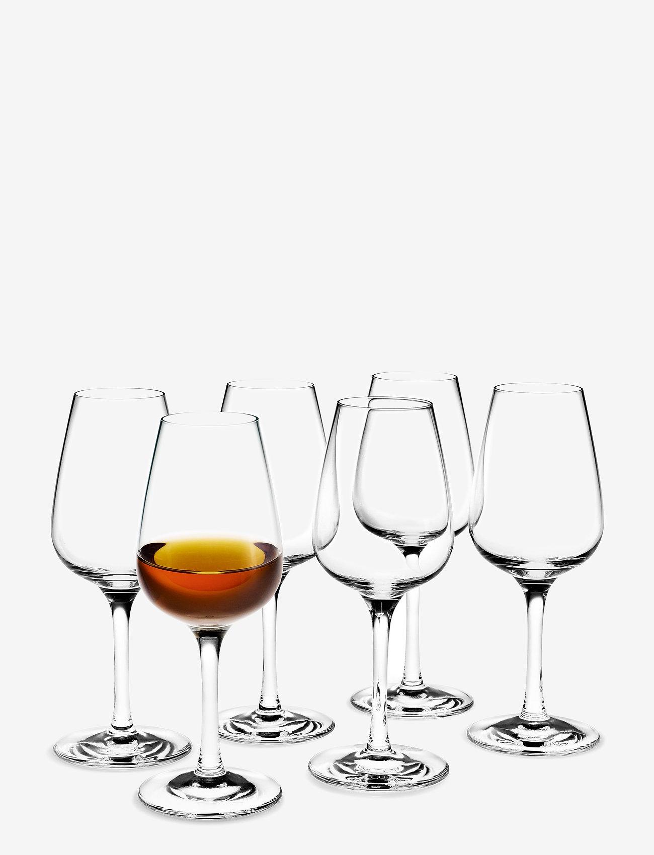 Holmegaard - Bouquet Brennevinsglass 24 cl 6 stk. - whiskyglass & cognacglass - clear - 0