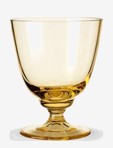 Flow Glas på fod35 cl - vannglass - amber