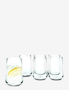 Future Vannglass 25 cl 6 stk. - vannglass - clear
