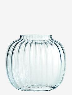 Primula Oval Vase H12,5 - vaser - clear
