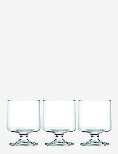 Stub Glass 21 cl 4 stk. - vannglass - clear