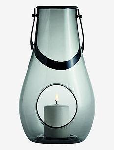 DWL Lanterne H29 - lysestaker & stearinlys - smoke