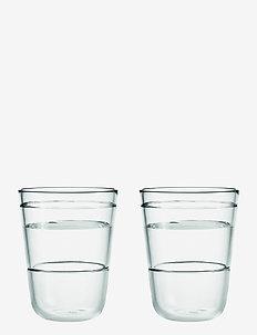 Scala Vannglass  2 stk. - vannglass - clear