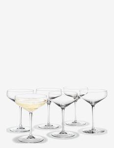 Perfection Cocktailglass 38 cl 6 stk. - martiniglass & cocktailglass - clear