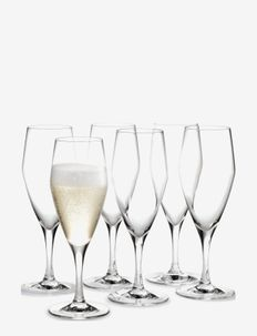 Perfection Champagneglass 23 cl 6 stk. - vinglass - clear