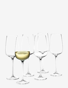 Bouquet White Wine Glass clear 41 cl 6-pack - viinilasit - clear
