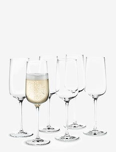 Bouquet Champagne Glass clear 29 cl 6-pack - glass - clear