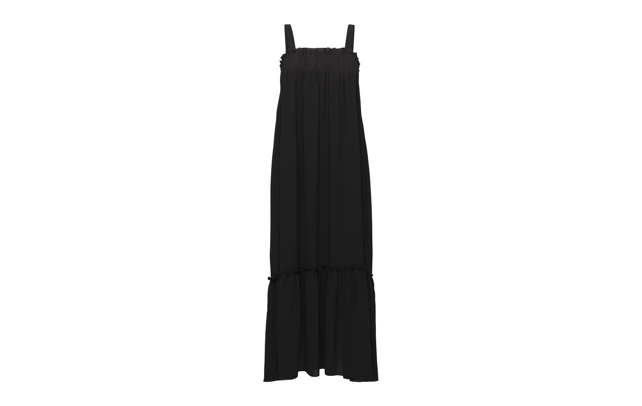 Holzweiler Fru Polyester Dress 100 Black Solid Steen qardwSq