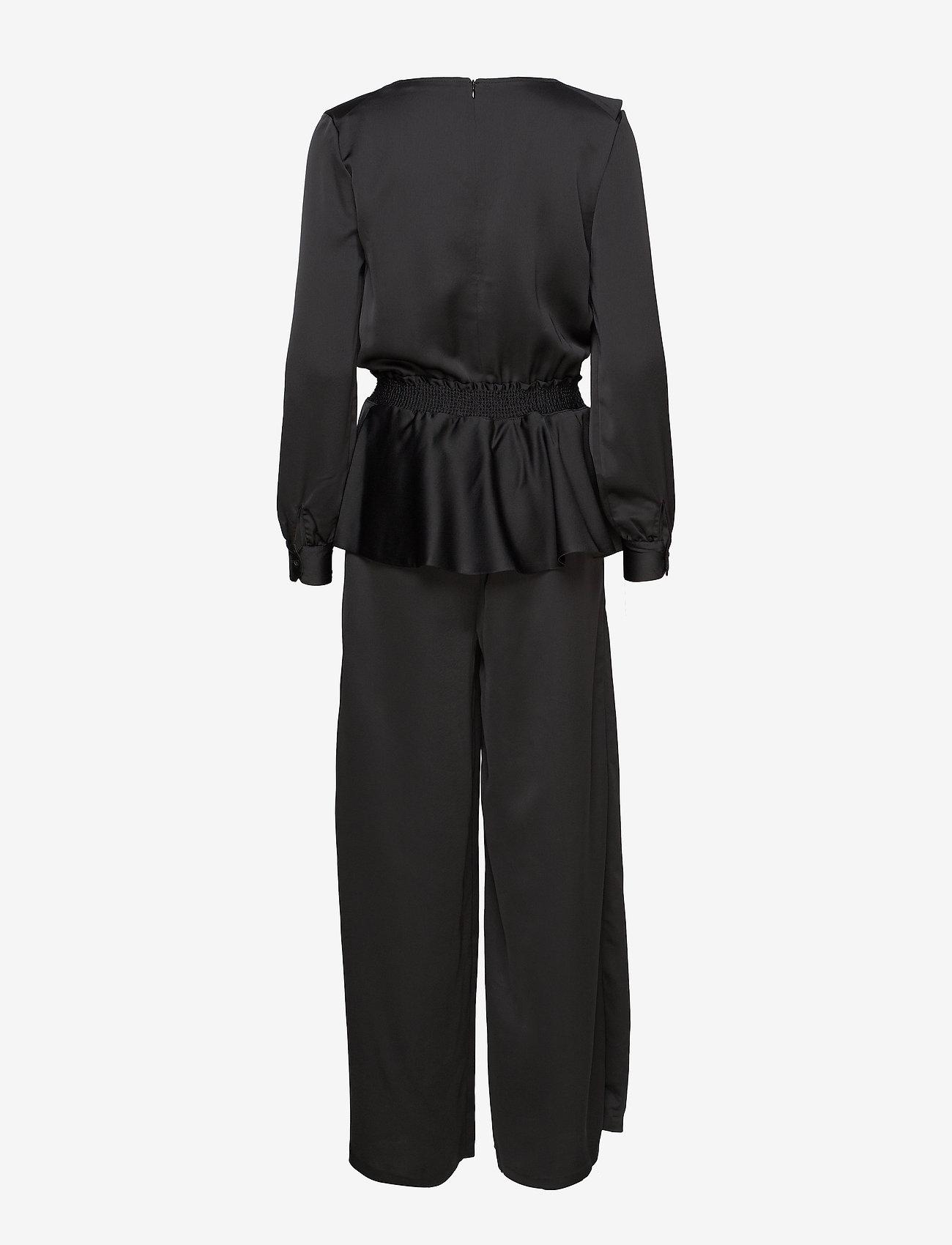 HOLZWEILER - Lenient Jumpsuit  - kombinezony - black - 1