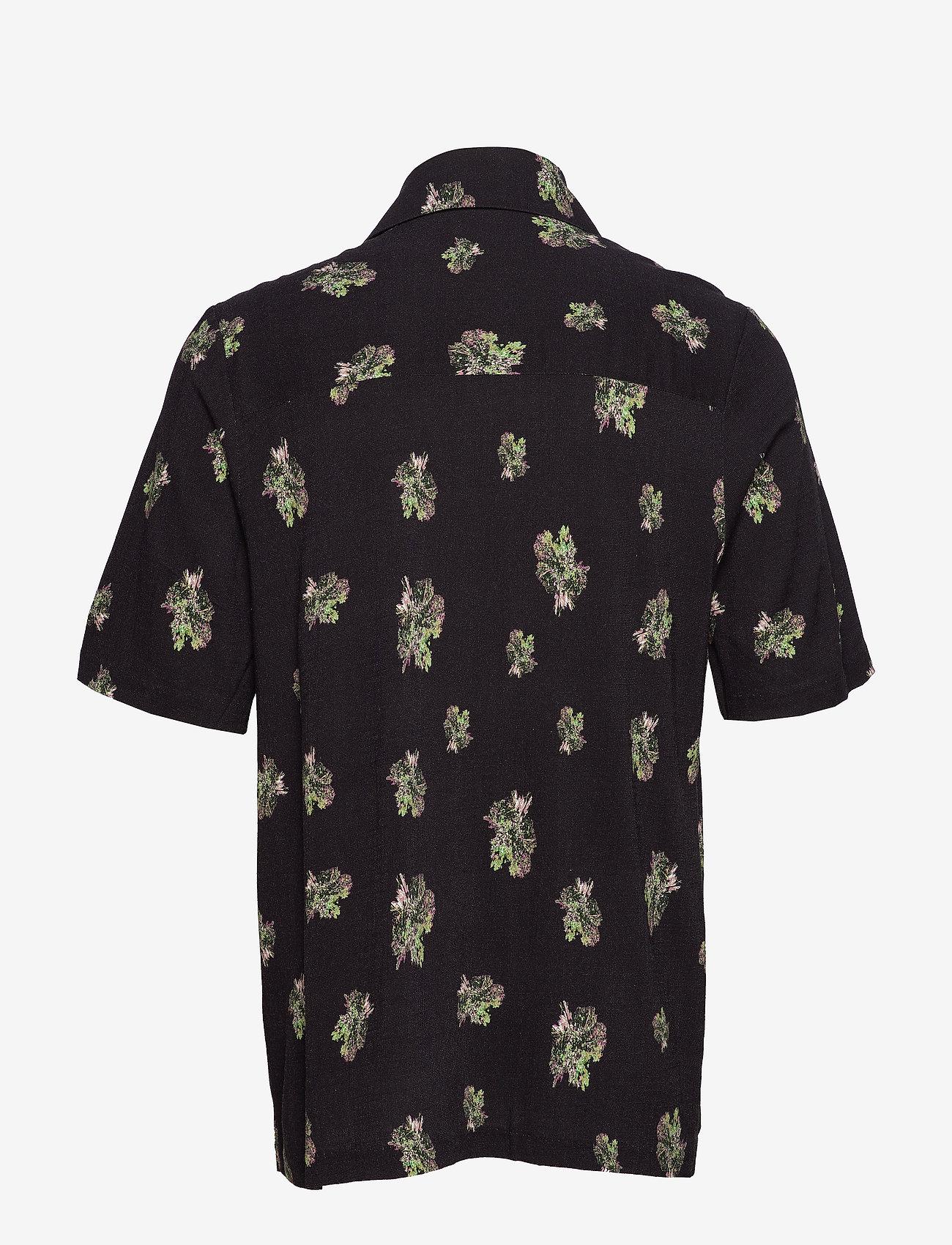HOLZWEILER Kai Print Shirt - Skjorter BLACK - Menn Klær