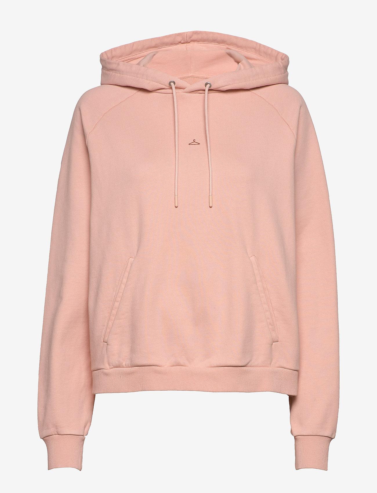 HOLZWEILER - Hang On Vintage - bluzy z kapturem - washed pink - 1