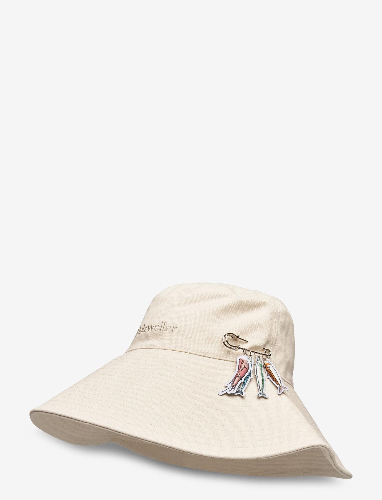 HOLZWEILER - Sundt Hat - bucket hats - off-white - 1