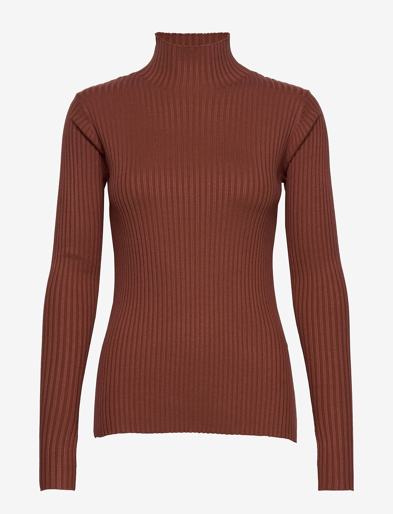 HOLZWEILER - Ebo Knit - turtlenecks - terracotta - 1