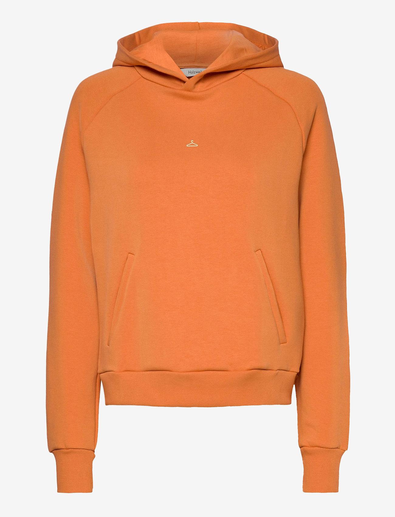 HOLZWEILER - Hang On Hoodie 20-04 - hoodies - orange - 1