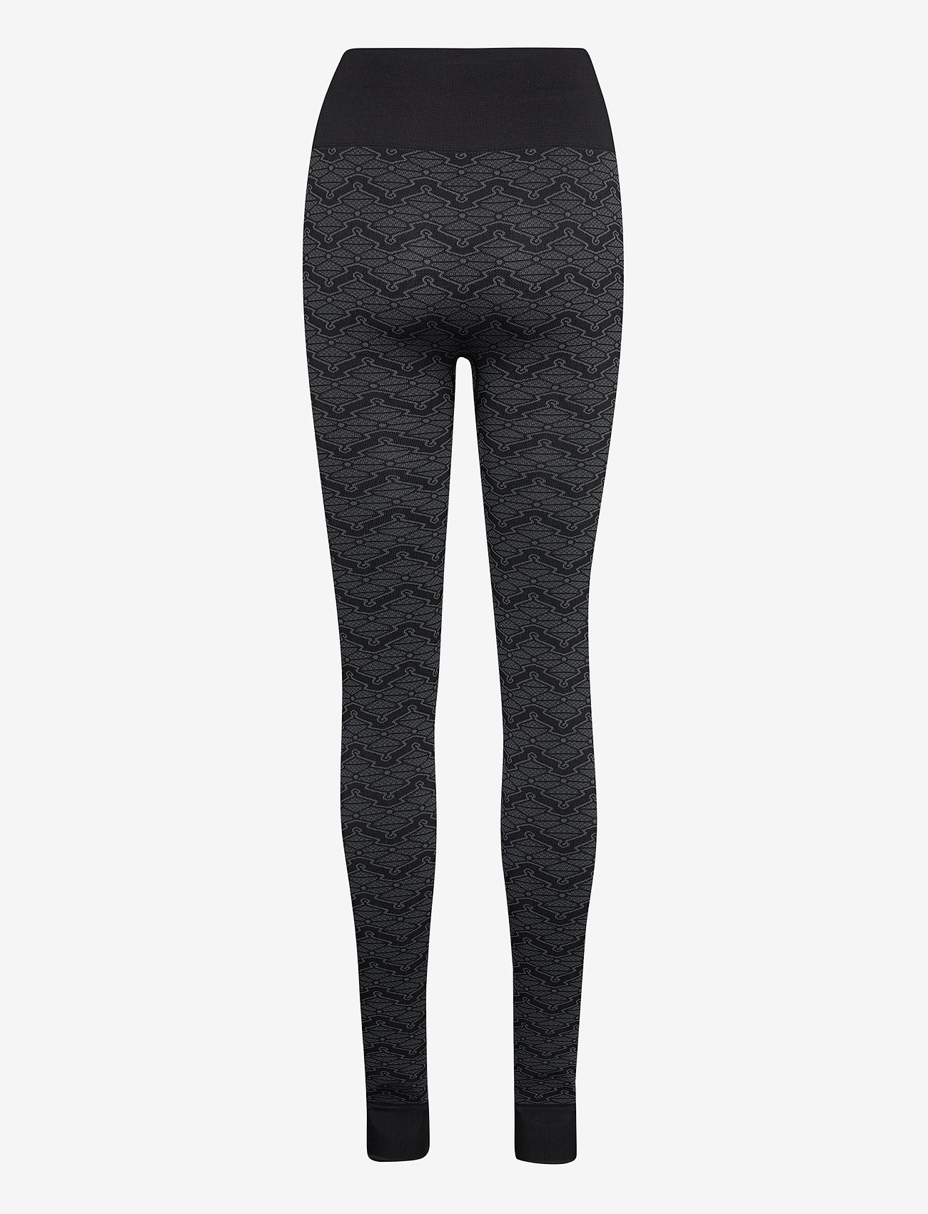 HOLZWEILER - Monogram Tights - leggings - black - 1
