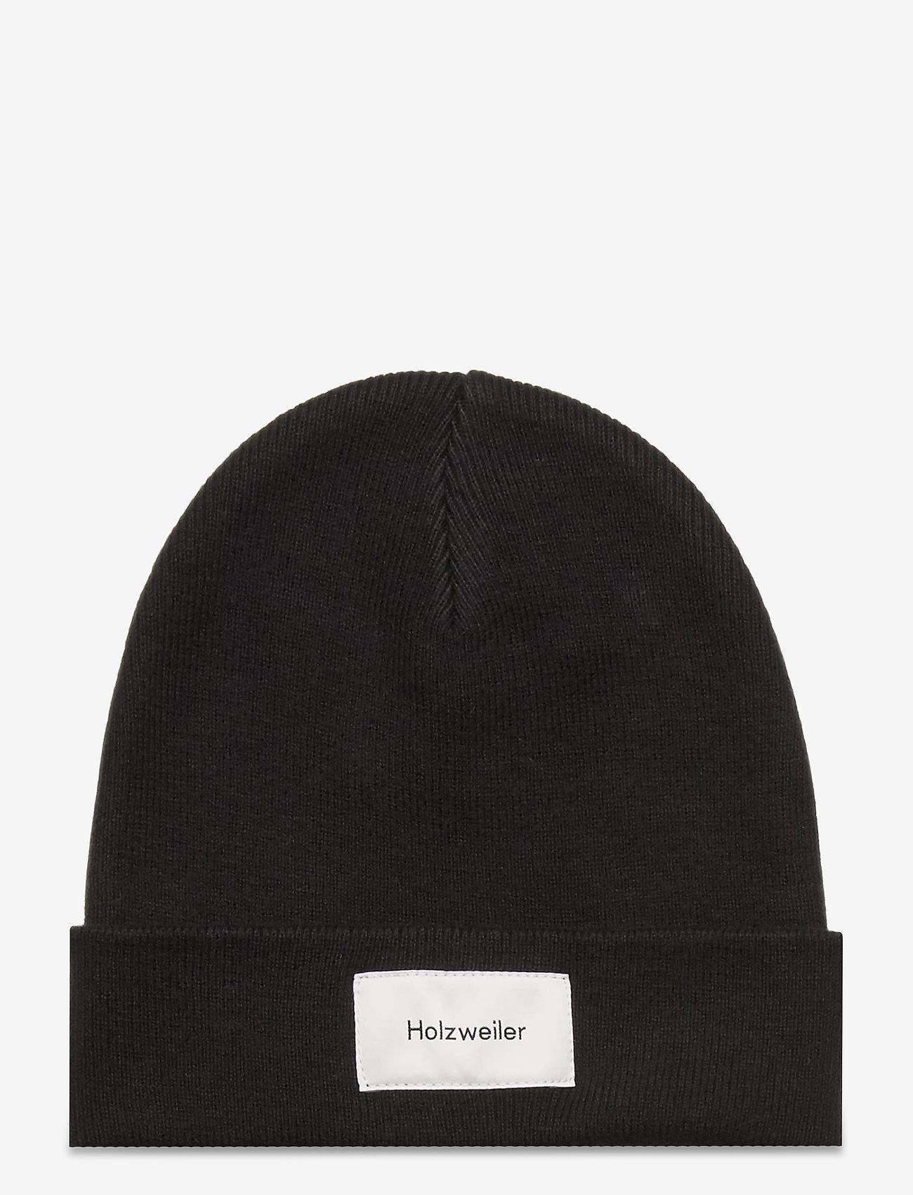 HOLZWEILER - Orn Beanie - huer - black - 0