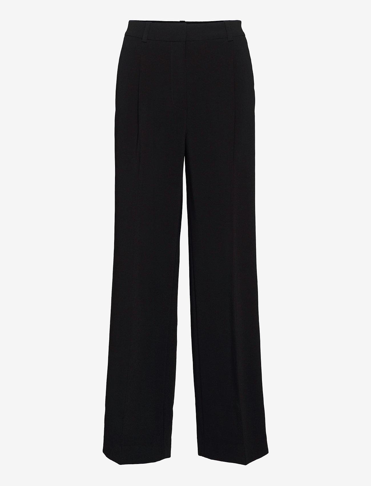 HOLZWEILER - Bottomsup Trouser 1 - broeken med straight ben - black - 1