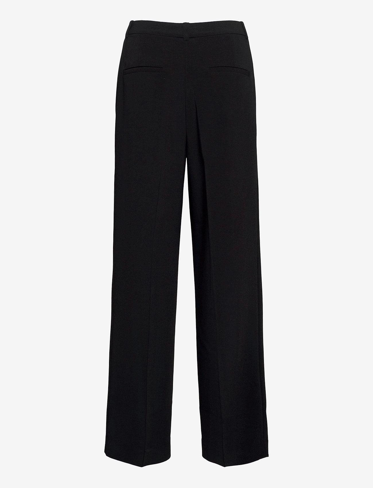HOLZWEILER - Bottomsup Trouser 1 - broeken med straight ben - black - 2