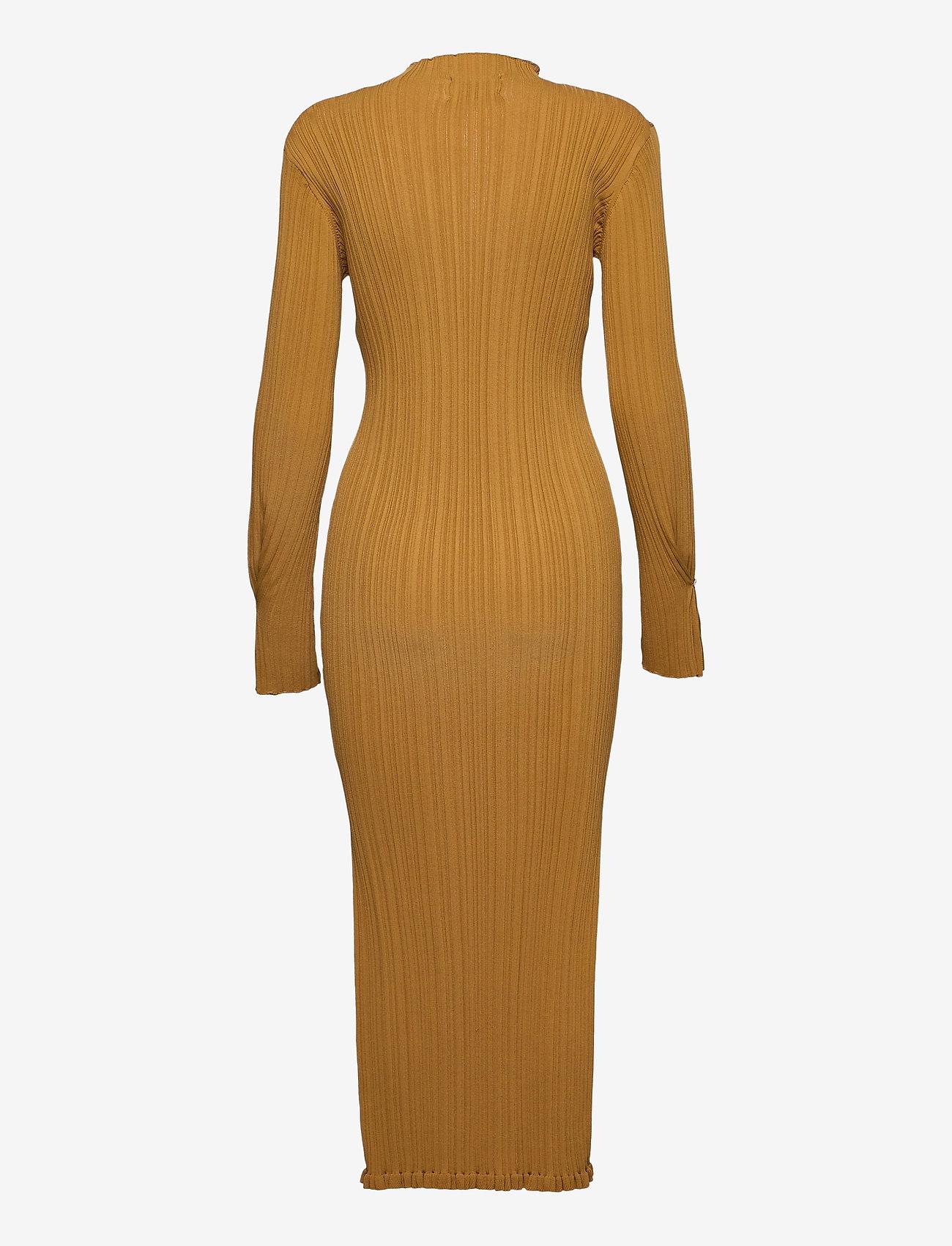 HOLZWEILER - Hadeland Knit Dress - bodycon dresses - lt. brown - 2