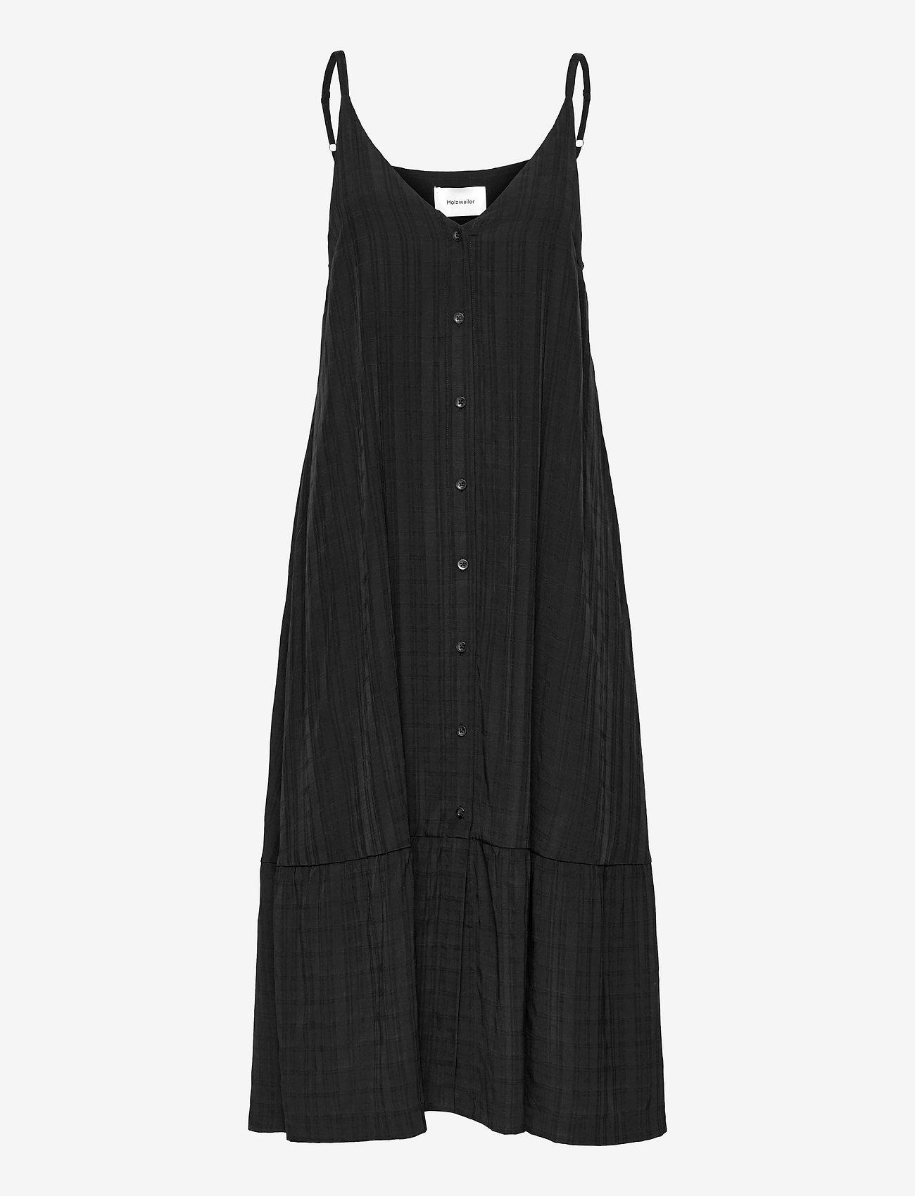 HOLZWEILER - Svinten Dress - maxi dresses - black - 1