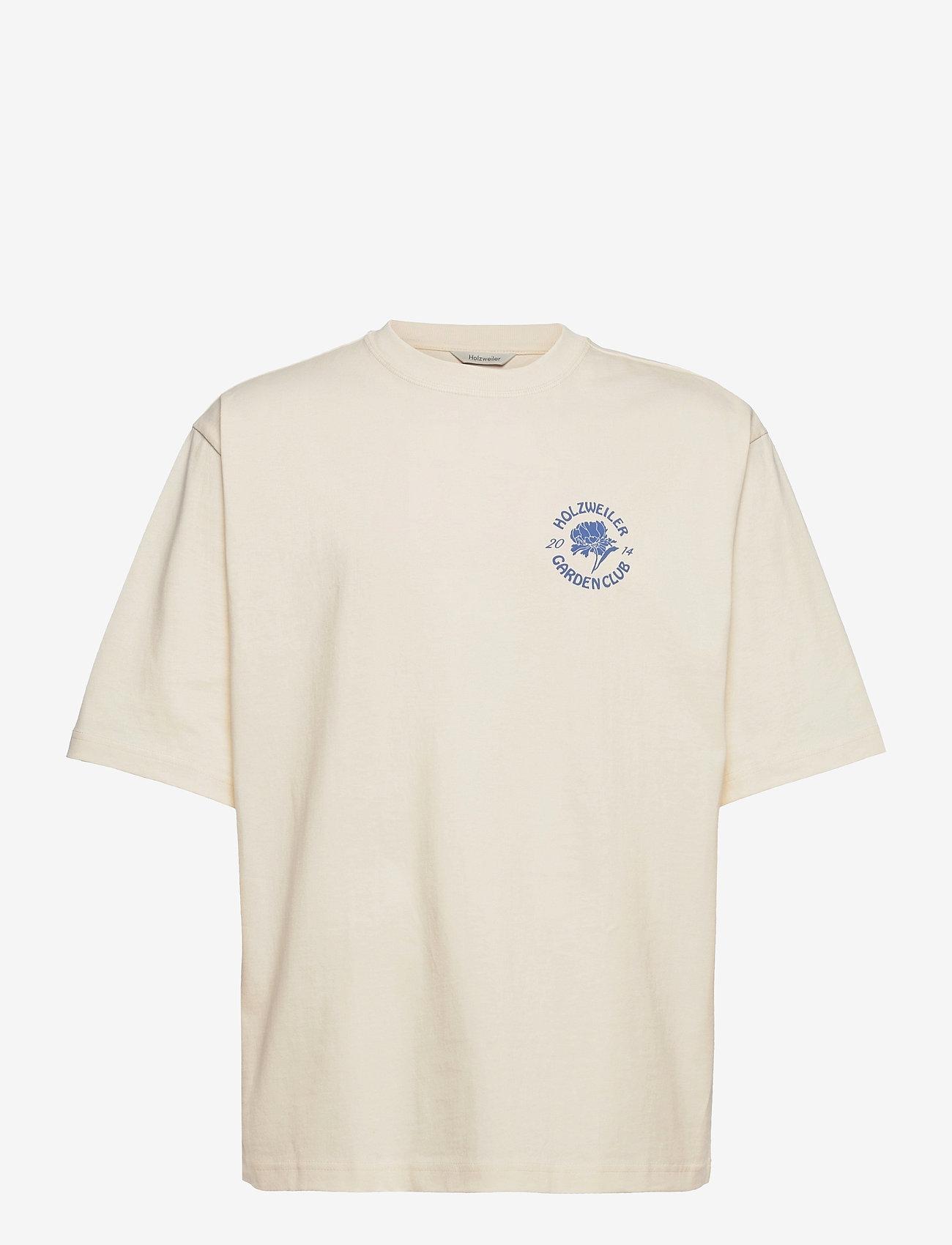 HOLZWEILER - Ranger Garden Club Tee - basic t-shirts - ecru - 1