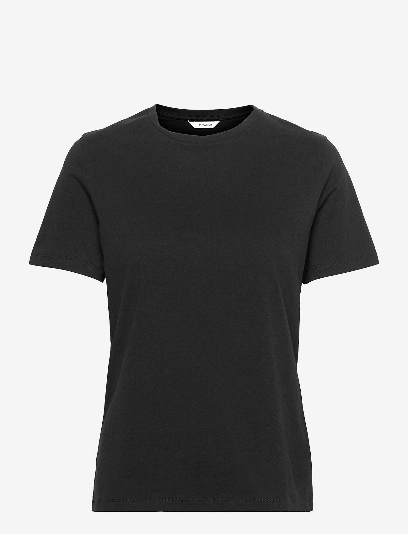HOLZWEILER - Suzana Classic Tee - t-shirts - black - 0