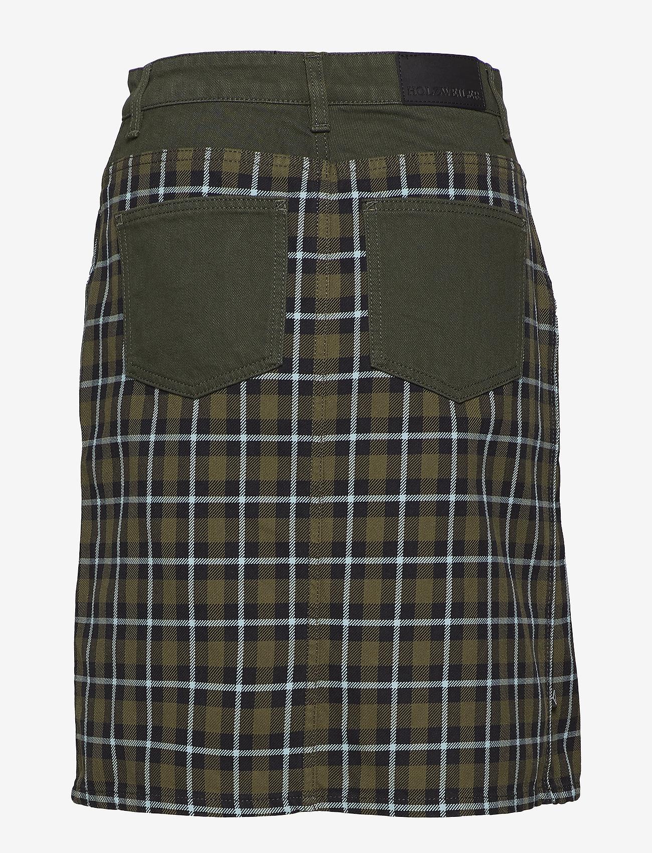 HOLZWEILER BRIDGET Skirt AW18 - Spódnice ARMY CHECK - Kobiety Odzież.